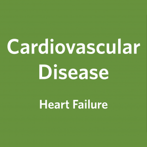 Cardiovascular Disease, Heart Failure: Key Messages